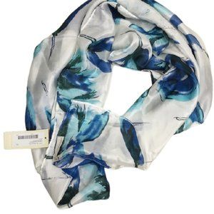 COLLECTION EIGHTEEN SCARF BAUBLE BLUE